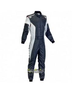 Combinaison FIA OMP Tecnica S Noir/Blanc