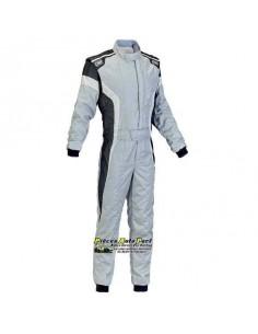 Combinaison FIA OMP Tecnica S Gris/Noir
