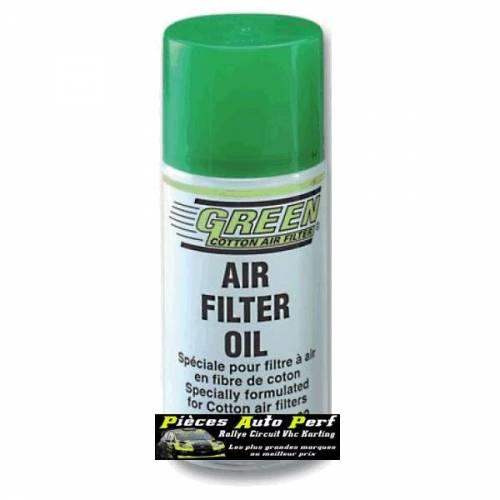 SPRAY HUILE SPECIALE GREEN Pour Filtres et  Admission Directe