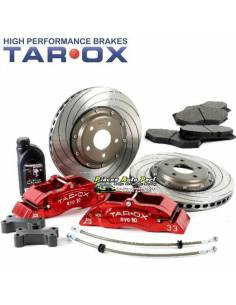 Kit gros freins Avant TAROX Etriers 10 pistons Disques Percés/Rainuré 340x26mm VW Golf 4 R32