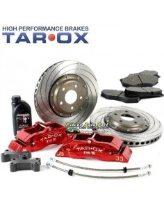 Kit gros freins Avant TAROX Etriers 10 pistons Disques Percés/Rainuré 370x28mm Ford Focus 2 RS Turbo