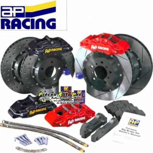 Kit gros freins Avant AP Racing Etriers 6 pistons Disques 343x32mm Bmw E39 M5