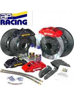 Kit gros freins Avant AP Racing Etriers 6 pistons Disques 332x32mm Mitsubishi Lancer Evo 7/8/9