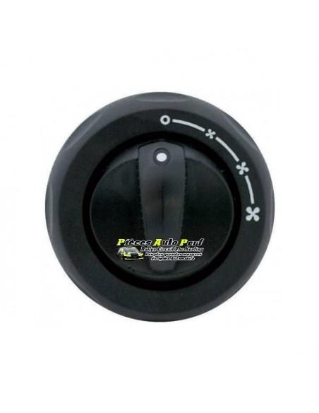Interrupteur rotatif 3 vitesses pour ventilateur de chauffage
