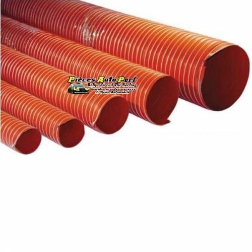 Gaine de ventilation néoprène 250° Couleur Orange Diamètre 80mm