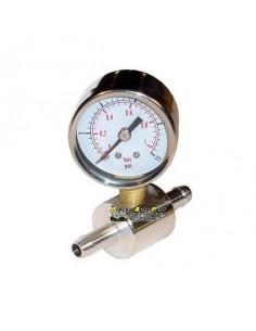 Adaptateur lisse 8mm pour manomètre de pression d'essence