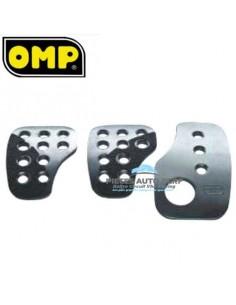 Pédalier racing aluminium OMP Argent