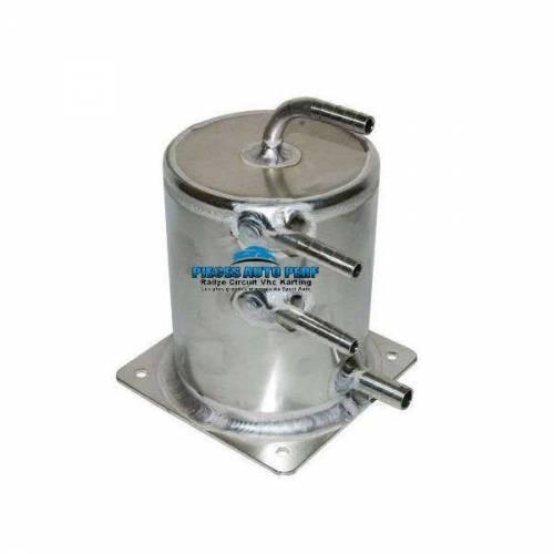 Réservoir tampon alu 1 litre sorties lisses 10mm
