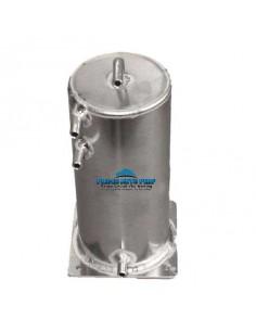 Réservoir tampon alu 2 litres sorties lisses 10mm
