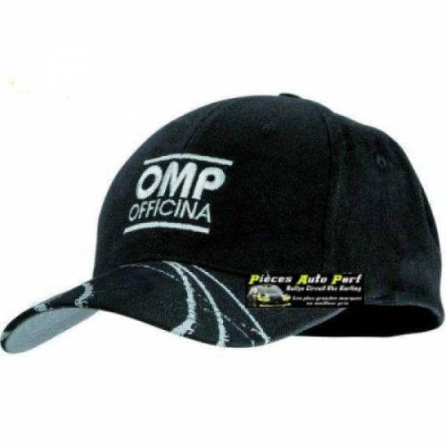 Casquette OMP Light Noir