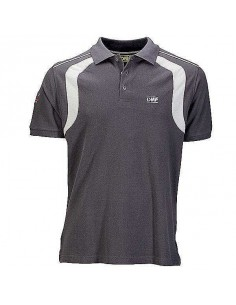 Polo homme OMP Racing Spirit Gris