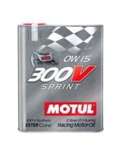 Huile moteur MOTUL 300V Power Sprint 0w15 Bidon 2 Litres