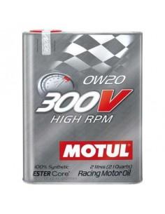 Huile moteur MOTUL 300V Power Hig RPM 0w20 Bidon 2 Litres
