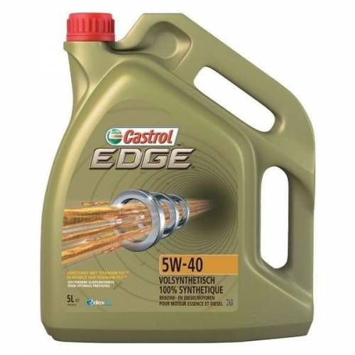 huile moteur 100 synth se castrol edge fst 5w40 bidon de 5 litres. Black Bedroom Furniture Sets. Home Design Ideas