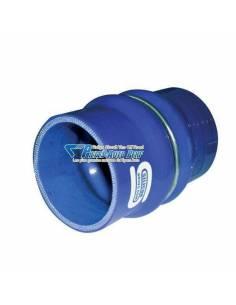Durite Manchon Flexible silicone renforcé Bleu Diamètre 63mm