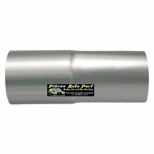 Réducteur Inox 2 étages Longueur 120mm Diamètre 76mm/70mm