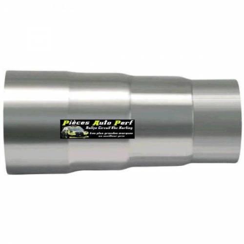 Réducteur Inox 2 étages Longueur 120mm Diamètre 89mm/76mm