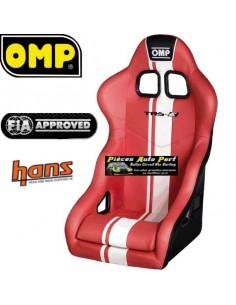 Siège baquet Tubulaire FIA OMP TRS Plus SKY Rouge
