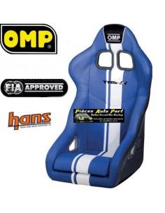 Siège baquet Tubulaire FIA OMP TRS Plus SKY Bleu