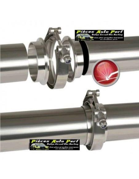 Bride de jonction Inox double T Diamètre 63.5mm