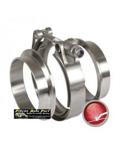 Bride de jonction Inox double T Diamètre 101.6mm