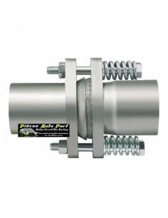 Compensateur Inox Male/Femelle pour échappement Diamètre 60mm