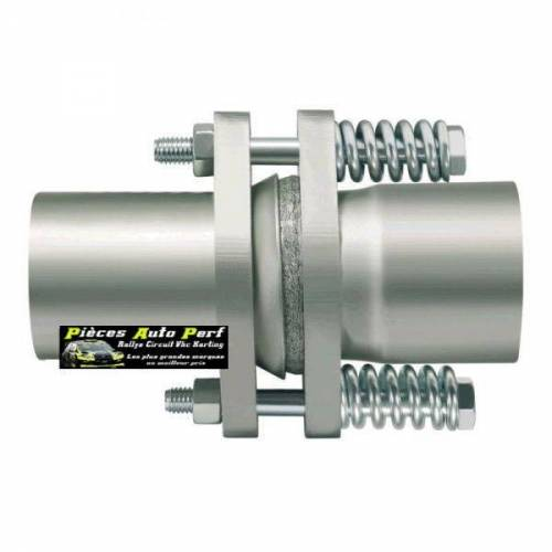 Compensateur Inox Male/Femelle pour échappement Diamètre 70mm