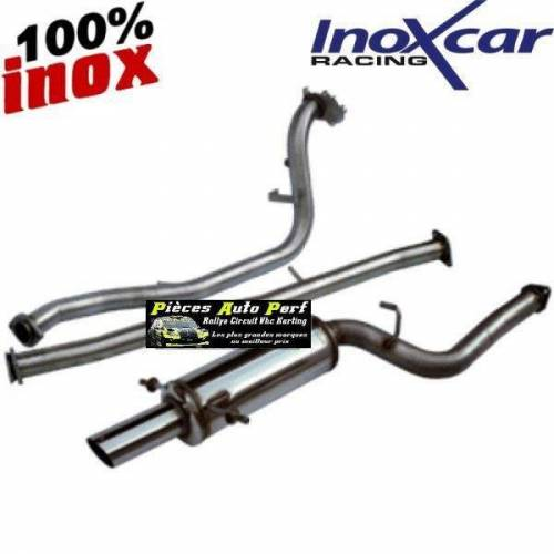 Ligne d'échappement Groupe N Inox Subaru Impreza 2.5 WRX/STi  Année 2006 et après