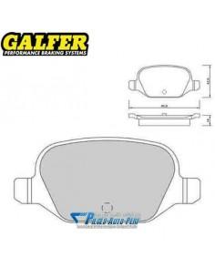 Plaquettes de freins Arrière GALFER Sport Fiat 500 1l4i 16v Abarth