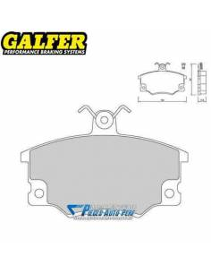 Plaquettes de freins Avant GALFER Sport Fiat Barchetta 1l8 16v