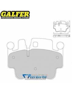 Plaquettes de freins Avant GALFER Sport Porsche 996 3l4