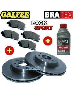 Pack Freinage SPORT Avant Citroen Saxo 1l6 16v