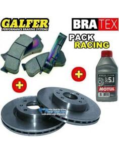 Pack Freinage RACING Avant Citroen C2 1l6 16v