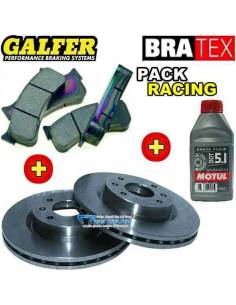 Pack Freinage RACING Avant Fiat 500 1l4 16v Abarth