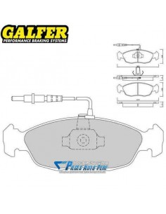 Plaquettes de freins Avant GALFER Racing 1066 Peugeot 106 1l6 Rallye
