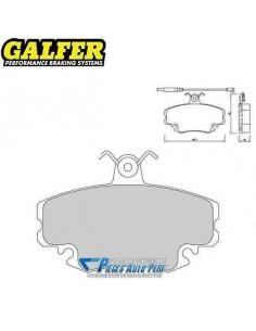 Plaquettes de freins Avant GALFER Racing 1066 Peugeot 309 1l9 GTi