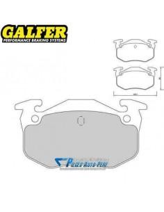Plaquettes de freins Arrière GALFER Racing 1066 Peugeot 309 1l9 GTi 16v