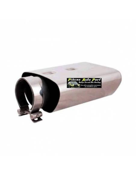 Embout d'échappement Inox type OPC diamètre 74x141mm