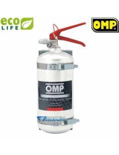 Extincteur Manuel OMP Alu Mécanique 2l4 Ecolife Homologué FIA