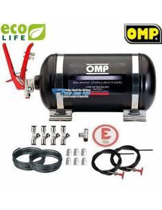 Extincteur FIA Automatique Mécanique Acier OMP 4.25l Ecolife Black Edition