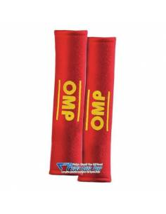 """Mousses de protection d'épaules OMP pour Harnais/Ceinture 3"""" Rouge"""