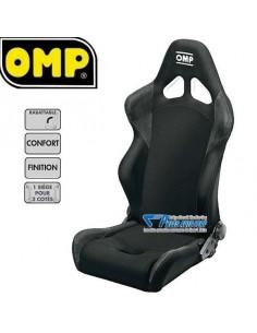 Siège sportif réglable OMP Style Tissu Noir