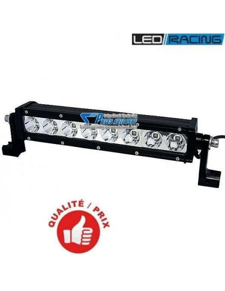 Phare à 8 leds Pro LED-LAZER SW-8 Noir