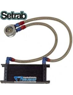 Kit radiateur d'huile Professionnel SETRAB 10 rangées