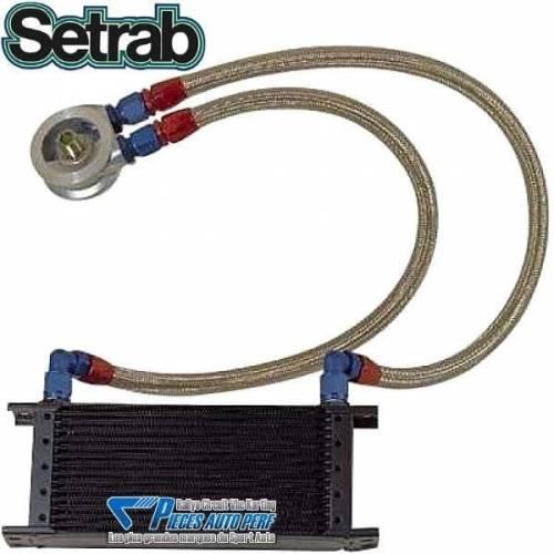 Kit radiateur d'huile Pro SETRAB 13 rangées