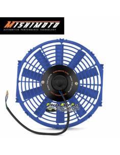 Ventilateur compétition Bleu Réversible MISHIMOTO Diamètre 285mm Débit 1150m3/heure
