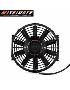 Ventilateur compétition Noir Réversible MISHIMOTO Diamètre 256mm Débit 950m3/heure
