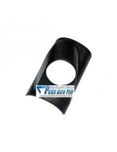 Support montant pare-brise PVC Noir pour 1 Mano diamètre 52mm