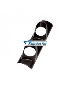 Support montant pare-brise PVC Noir pour 2 Manos diamètre 52mm