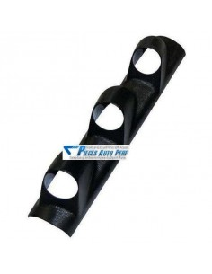 Support montant pare-brise PVC Noir pour 3 Manos diamètre 52mm